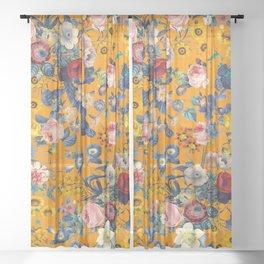 Summer Botanical Garden IX Sheer Curtain