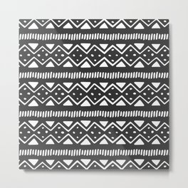 Tribal Pattern Metal Print