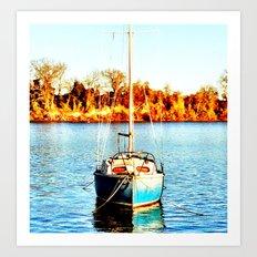 Sail 2 Urbanna Art Print