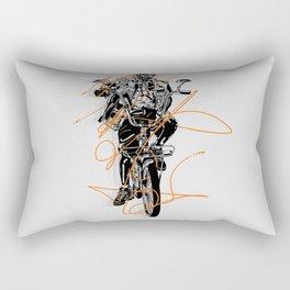Slow Roll Part Deux Rectangular Pillow