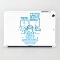 ramen iPad Cases featuring Ramen Set by Design Made in Japan