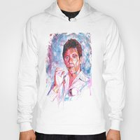 montana Hoodies featuring Tony montana by Zinaraad