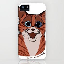 Happy Smiling Cat iPhone Case