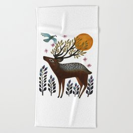 Design by Nature Beach Towel