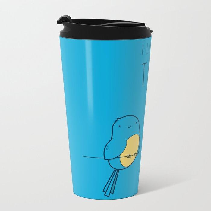 I Like Your Tits Metal Travel Mug