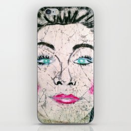 Fashion Face iPhone Skin