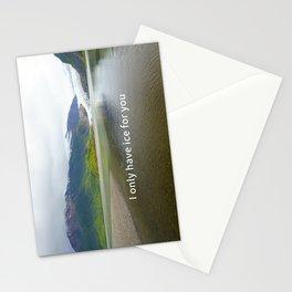 Mendenhall Glacier Juneau Alaska Stationery Cards