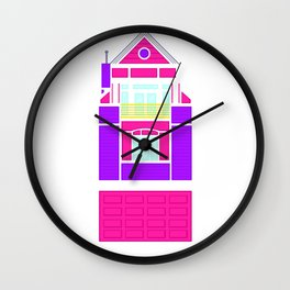 Barbie House Wall Clock