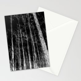 Black and white tree photography - Watercolor series #7 Stationery Cards