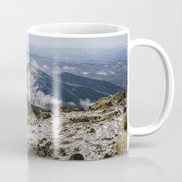 Cannon Mountain from Mt. Lafayette Coffee Mug