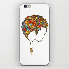 Musical Mind iPhone & iPod Skin