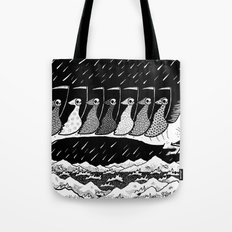 7 Riders Tote Bag