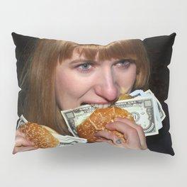 Eating Money Pillow Sham