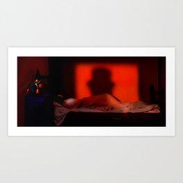 Shadow of the Ripper Art Print