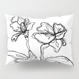 Mason Jar Flowers Pillow Sham