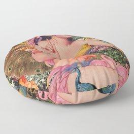 Birds in Paradise Floor Pillow