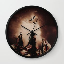 The Queens of Darkness Wall Clock