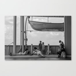 Simple Times NYC Canvas Print
