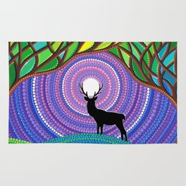 A Silent Visitor Rug
