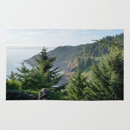 Cape Foulweather Vantage Point Rug