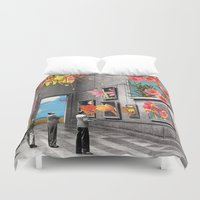 eugenia loli Duvet Covers featuring Natural History Museum by Eugenia Loli