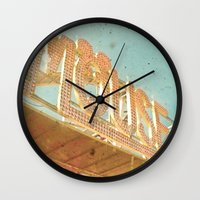 mouse Wall Clocks featuring Mouse by Cassia Beck
