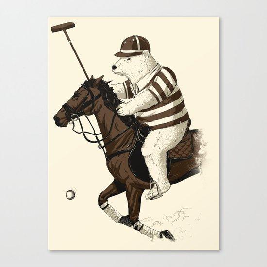 Polobear Canvas Print