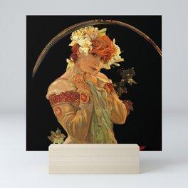 Sarah Bernhardt in Princess Costume Mini Art Print