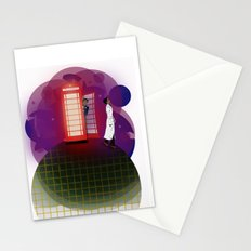 Community Inspector Spacetime  Stationery Cards