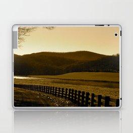 Down the Golden Loop Laptop & iPad Skin
