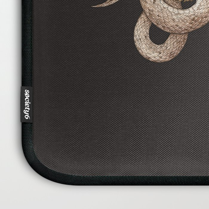 The Snake and Fern Laptop Sleeve