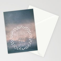 Nothing Gold Can Stay I Stationery Cards