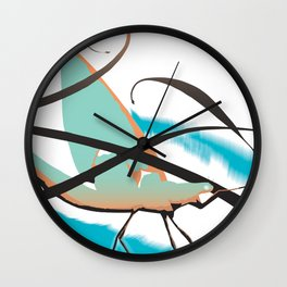 Hexagenia Wall Clock