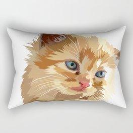 Adorable Cat Rectangular Pillow