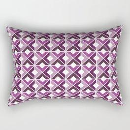 Plum Basketweave Rectangular Pillow