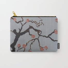 Japanese Cherry Blossoms Carry-All Pouch