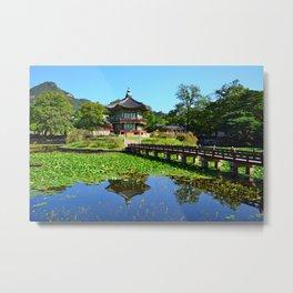 Summer Hyangwon-jeong, Gyeongbokgung Metal Print