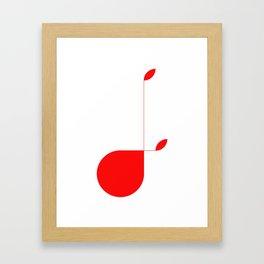 The Letter J Framed Art Print