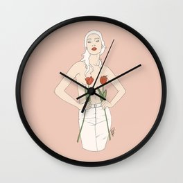 Nude By Nature Wall Clock