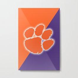 Clemson Tigers Football Metal Print