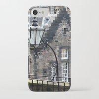 edinburgh iPhone & iPod Cases featuring Edinburgh castle by oxana zaika