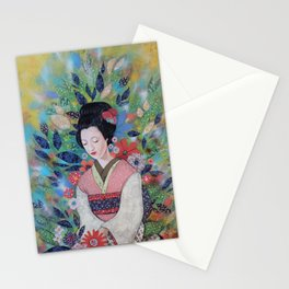 always a maiko Stationery Cards