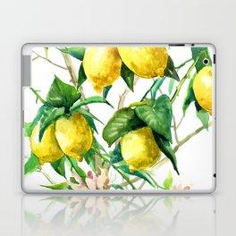Lemon Tree. lemons kitchen art Laptop & iPad Skin
