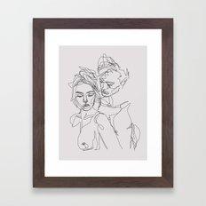 Other Half Framed Art Print