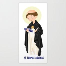 St Thomas Aquinas Art Print
