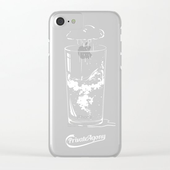 Private Agony Clear iPhone Case