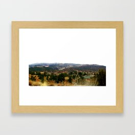 Manitou Springs, Colorado Framed Art Print