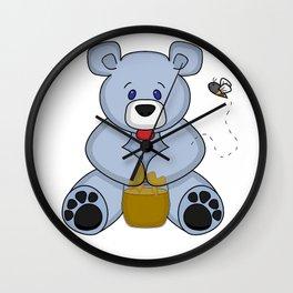 Hunny Bear Wall Clock