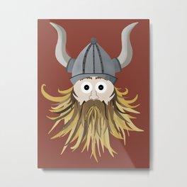 Harold the Viking Metal Print