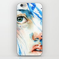 blues iPhone & iPod Skins featuring Blues by Jenny Viljaniemi
